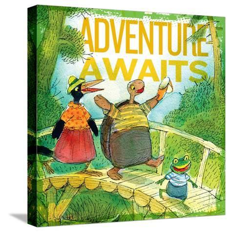 Adventure Awaits 2--Stretched Canvas Print