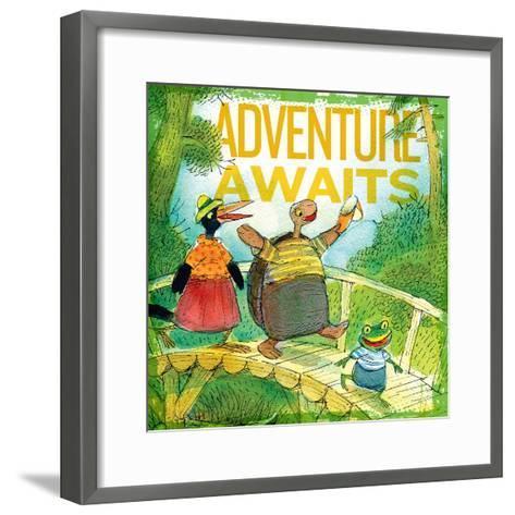 Adventure Awaits 2--Framed Art Print