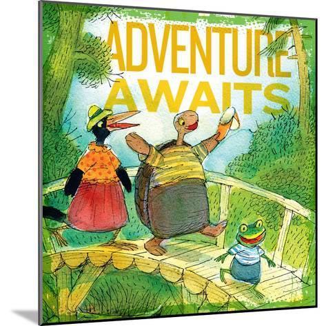 Adventure Awaits 2--Mounted Giclee Print