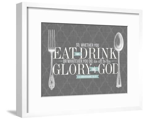 Glory to God 2--Framed Art Print