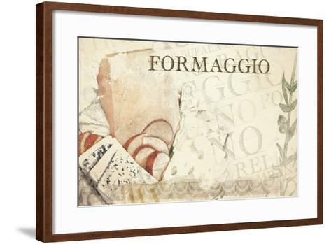 Italian  Cheese--Framed Art Print