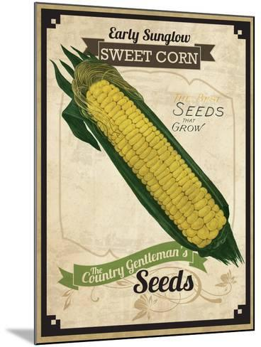 Vintage Corn Seed Packet--Mounted Giclee Print