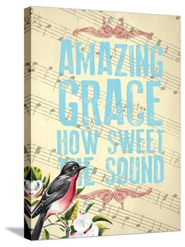 Amazing Grace--Stretched Canvas Print