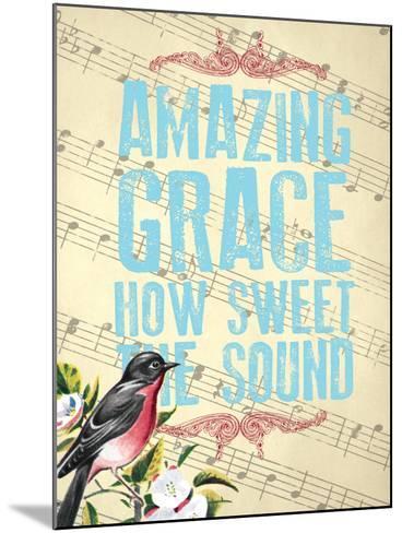 Amazing Grace--Mounted Giclee Print