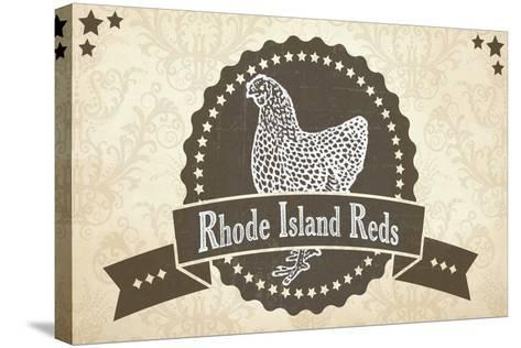 Rhode Island Reds 1--Stretched Canvas Print