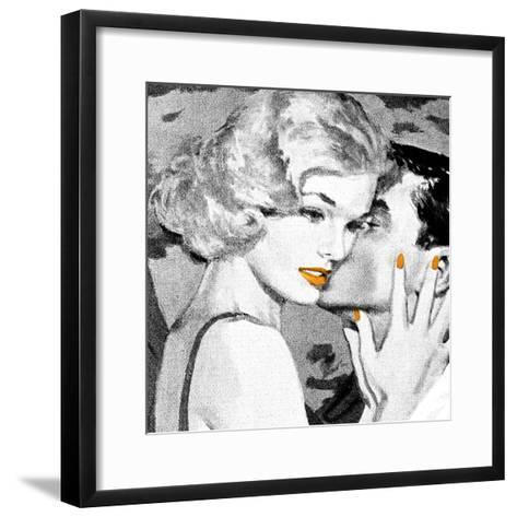 Lips 4--Framed Art Print