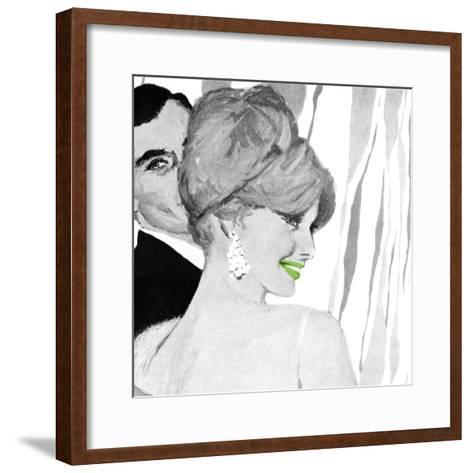 Lips 6--Framed Art Print