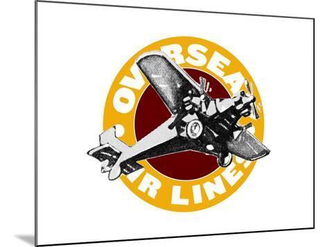 Overseas 3--Mounted Giclee Print