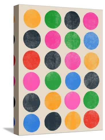 Colourplay III-Garima Dhawan-Stretched Canvas Print