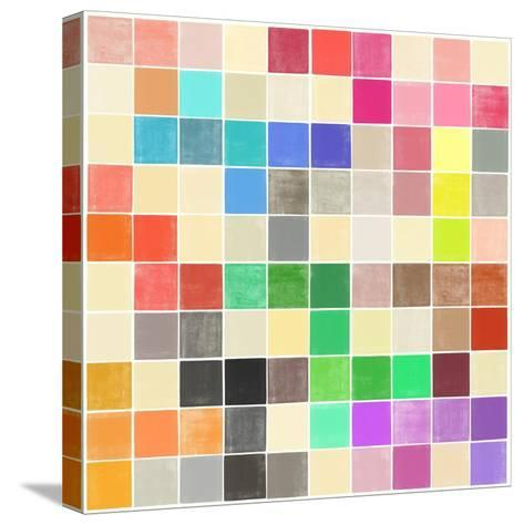 Colourquilt III-Garima Dhawan-Stretched Canvas Print