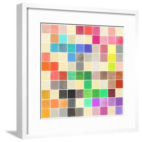 Colourquilt III-Garima Dhawan-Framed Art Print
