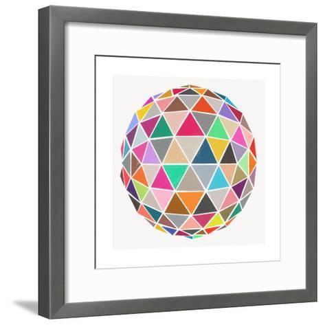 Geodesic-Garima Dhawan-Framed Art Print