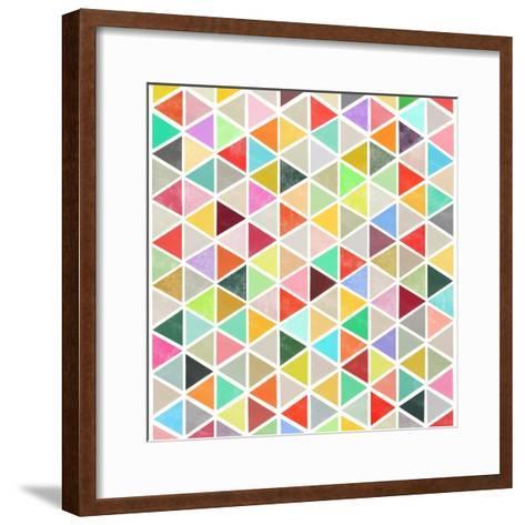 Unfolding-Garima Dhawan-Framed Art Print