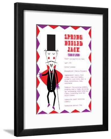 Spring Heeled Jack-Nicole Thompson-Framed Art Print