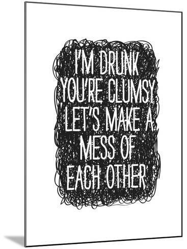 Drunk-Nicole Thompson-Mounted Giclee Print