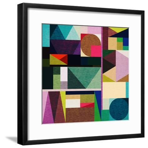 Colourful Day-Fimbis-Framed Art Print