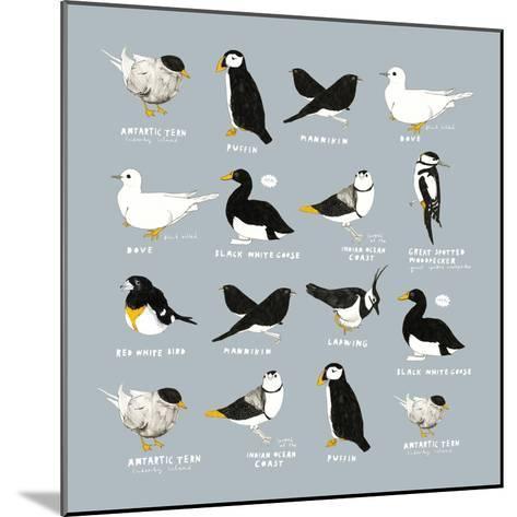 Birds-Hanna Melin-Mounted Giclee Print