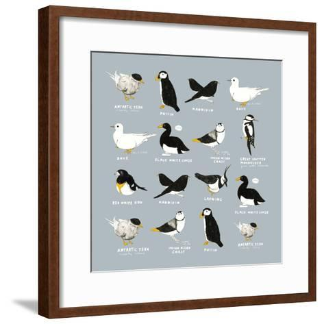 Birds-Hanna Melin-Framed Art Print