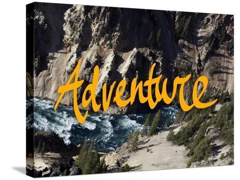 Adventure River-Leah Flores-Stretched Canvas Print