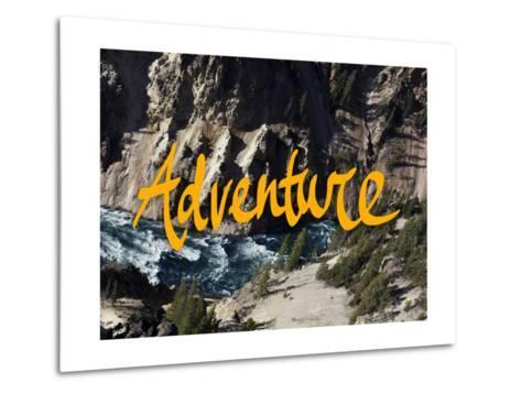 Adventure River-Leah Flores-Metal Print