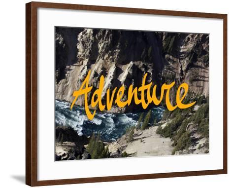 Adventure River-Leah Flores-Framed Art Print