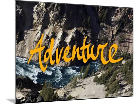 Adventure River-Leah Flores-Mounted Giclee Print