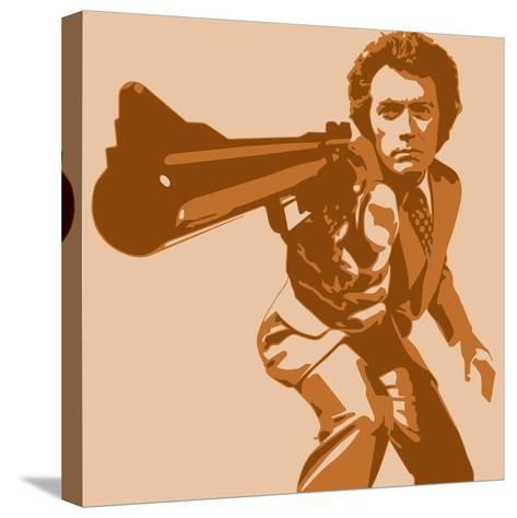 Dirty Harry-Emily Gray-Stretched Canvas Print