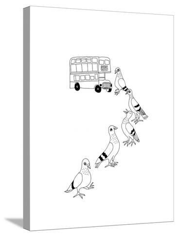 Fares Please-Jennifer Camilleri-Stretched Canvas Print