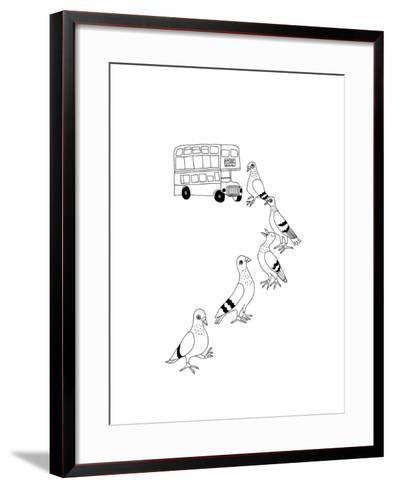 Fares Please-Jennifer Camilleri-Framed Art Print