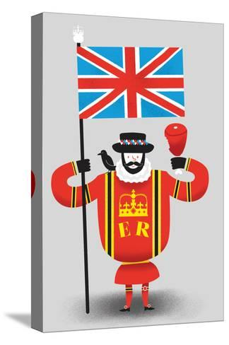 Beefeater-Chris Wharton-Stretched Canvas Print