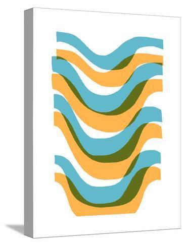 Wave-Francesca Iannaccone-Stretched Canvas Print