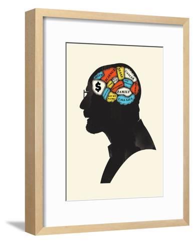 Heisenberg-Chris Wharton-Framed Art Print