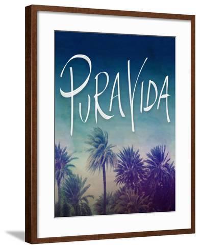 Pura Vida-Leah Flores-Framed Art Print