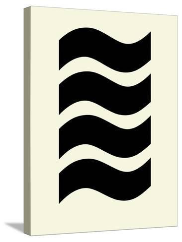 Wavey Symmetry-Philip Sheffield-Stretched Canvas Print