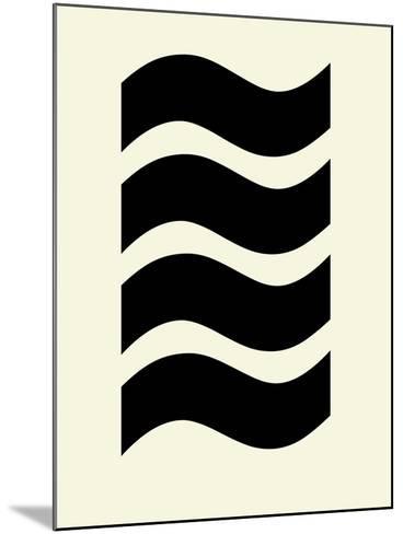 Wavey Symmetry-Philip Sheffield-Mounted Giclee Print