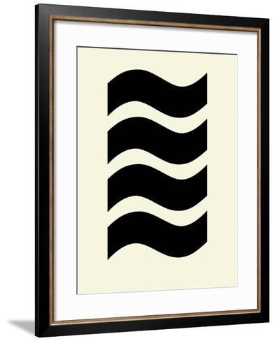 Wavey Symmetry-Philip Sheffield-Framed Art Print