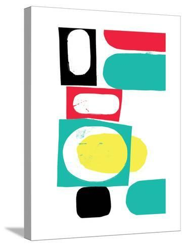 Abstract 18-Catherine Aguilar-Stretched Canvas Print