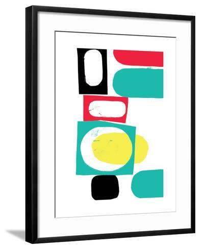 Abstract 18-Catherine Aguilar-Framed Art Print