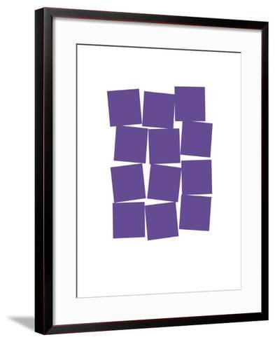 Stacks-Catherine Aguilar-Framed Art Print