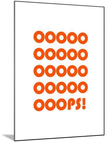 Ooops-Coni Della Vedova-Mounted Giclee Print