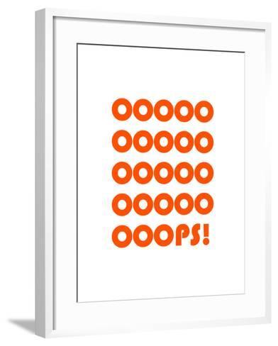 Ooops-Coni Della Vedova-Framed Art Print