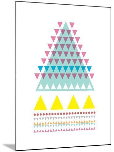 Triangle Peak-Moha London-Mounted Giclee Print