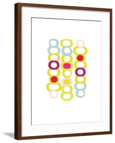 Party Chain-Catherine Aguilar-Framed Art Print
