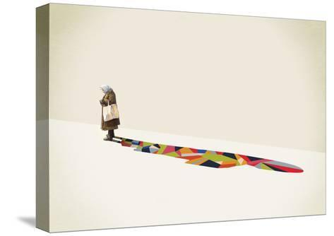 Old Lady-Jason Ratliff-Stretched Canvas Print