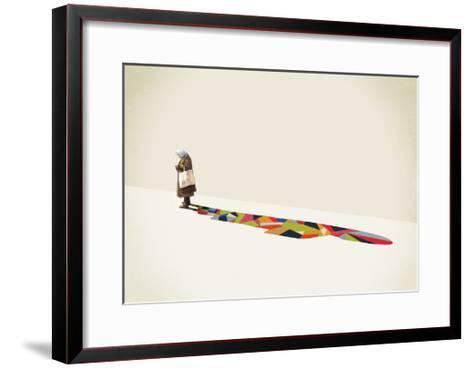 Old Lady-Jason Ratliff-Framed Art Print