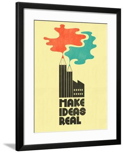 Make Ideas Real-Dale Edwin Murray-Framed Art Print