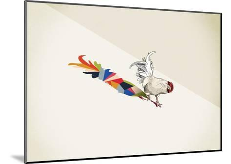 Rooster-Jason Ratliff-Mounted Giclee Print