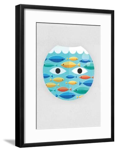 Fish Bowl-Dale Edwin Murray-Framed Art Print