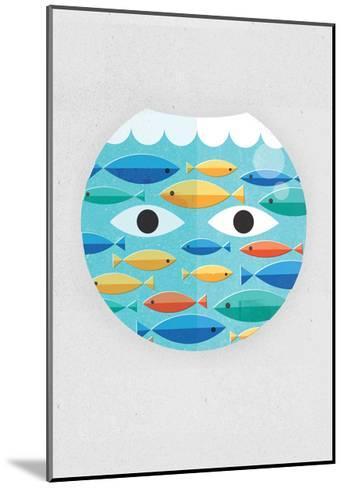 Fish Bowl-Dale Edwin Murray-Mounted Giclee Print