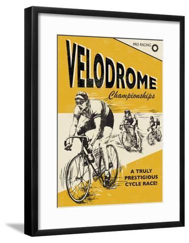 Velodrome-Rocket 68-Framed Art Print
